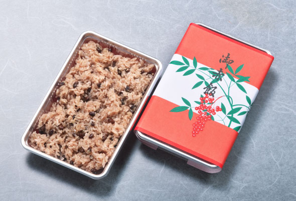 お赤飯(大)1,000円(小)600円