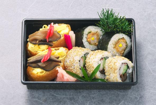 巻寿司弁当600円