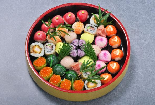 アレンジメント寿司2人前5,000円より